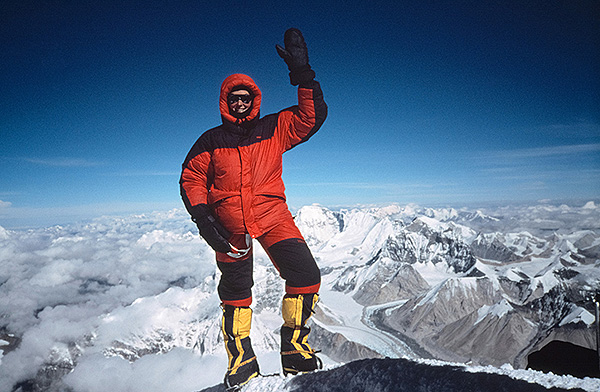 7 Summits Helga Hengge